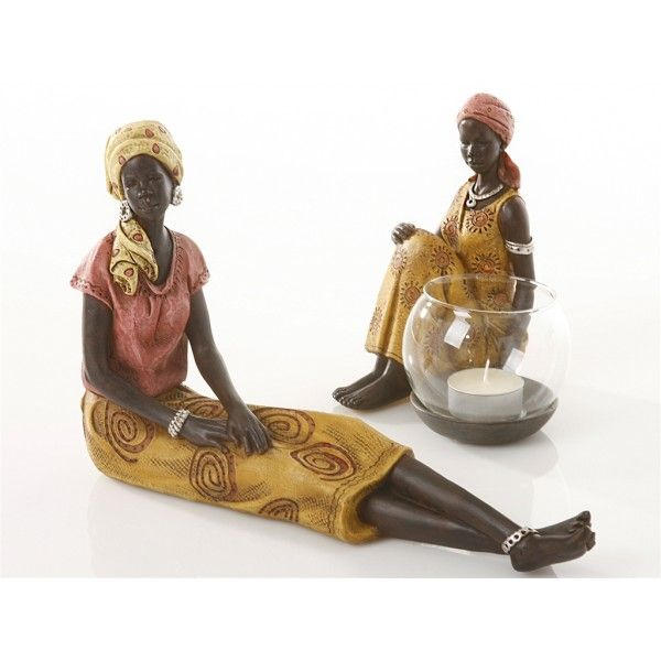 figura-resina-africana-mostaza-15x11x16