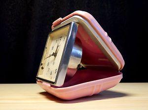 Chronotechna travel alarm clock #travel #clock #alarm #pink #chronotechna