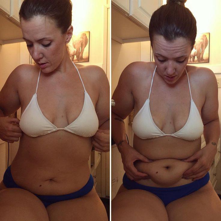 Porn marks belly stretch