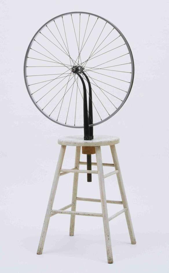 Duchamp Bicycle Wheel 1913