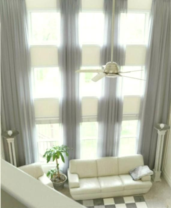 Extra Long Sheer Voile Curtains 2