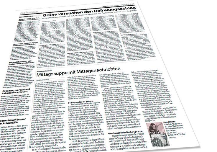 Buchkritik Basler Zeitung