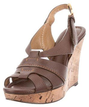 Chloé Leather Cork Spring Summer Brown/Cork Wedges on Sale, 63% Off | Wedges on Sale at Tradesy