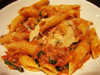 Tonijn pasta recept Jamie Oliver