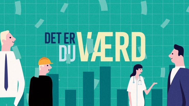 Animated intro for live show 'Det er du værd' about income and equality in the Danish society #bennybox #animation #intro #animatedintro #DanishTV