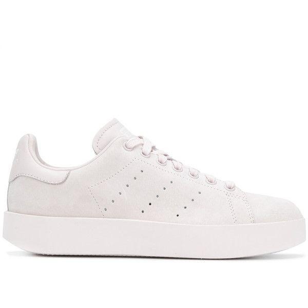 Adidas Originals Adidas Originals Stan Smith Bold sneakers (€140) ❤ liked  on Polyvore