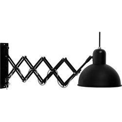Aberdeen - Wandlamp - Mat-Zwart