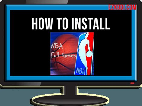 How To Install NBA Full Games Addon For Kodi - http://ezkodi.com/kodi/how-to-install-nba-full-games-addon-for-kodi/