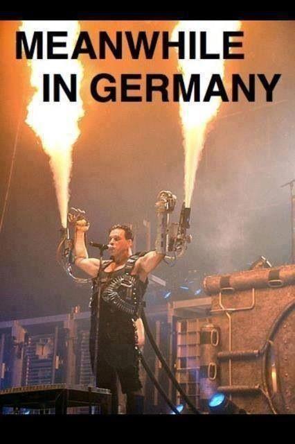 Ahh Rammstein..