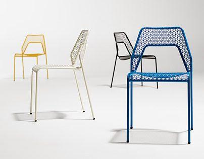Hot Mesh Chair #behance #design @GoaShape