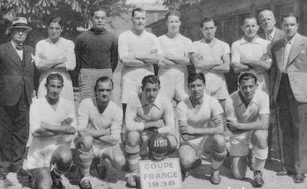 FOOTBALL RETRO: Olympique Marseille 1937-1938