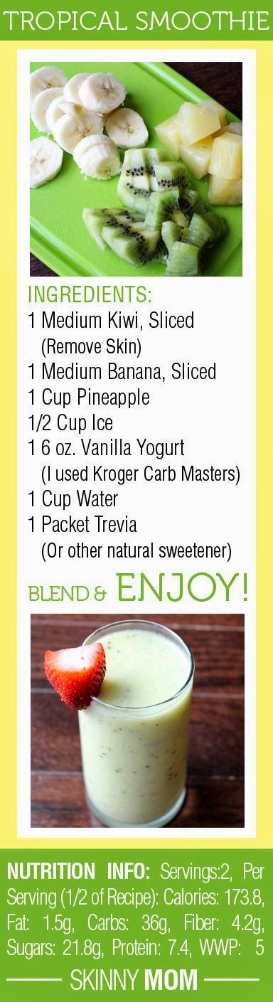 Health is Wealth Journal: Tropical smoothie