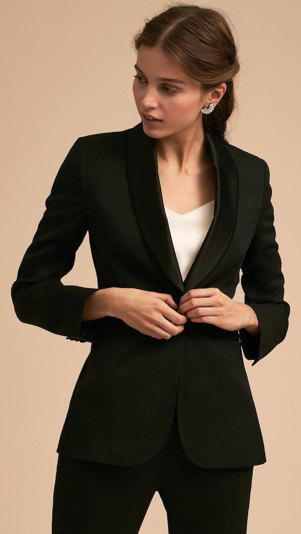 d5c9c8445d5 For the Girl Who Doesn't Want a Dress: Wedding Tuxedos by The Black ...