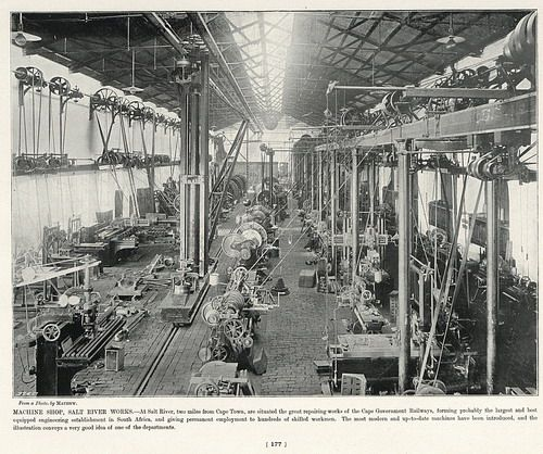 Machine Shop, Salt River Works   South Africa by The National Archives UK