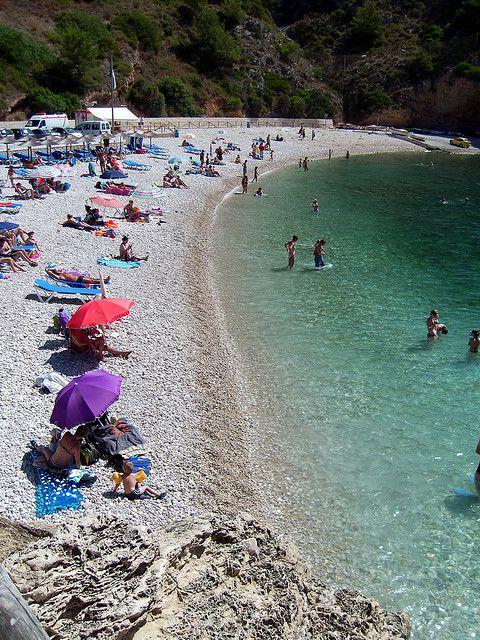 Granadella Beach, Xabia, Spain