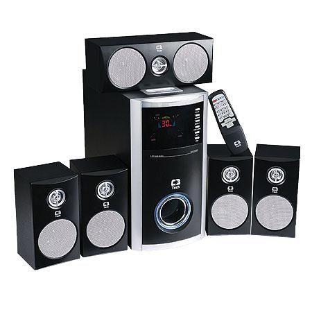 Caixa De Som 5.1 Bivolt SP-590BS - C3 Tech  http://www.mreletro.khia.com.br/