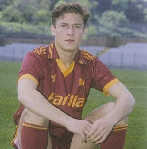 Young Totti