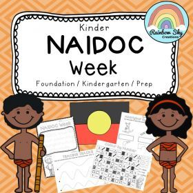 Kinder NAIDOC Week Activity Pack. Includes 10 resources compiled of Literacy and Numeracy activities. Suitable for Kindergarten / Foundation / Prep.