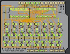 [Allan Schwartz] decided to document his experience using Fritzing to design, fabricate, and test a custom Arduino shield PCB, and his step-by-step documentation makes the workflow very clear. Anyo…