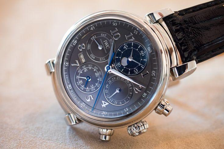 IWC Da Vinci Perpetual Calendar Chronograph, In Steel dial