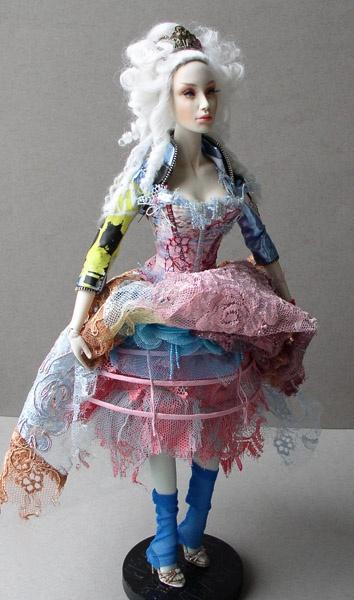 Unusual Antoinette by sybarite doll superfrock superdoll