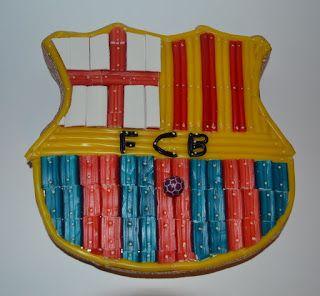 Tartas de Chuches Pamplona : Escudo Barça de Chuches