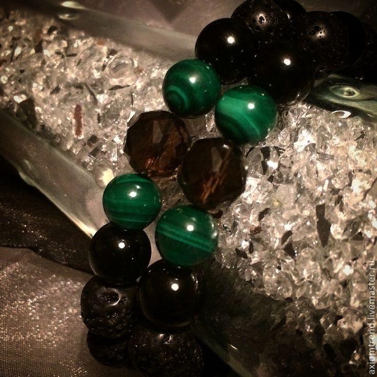 """Купить Комплект мужских браслетов """"Giacomo C."""" 009. - комплект браслетов, ручная работа"""