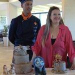Con Moreno Ungaretti alla presentazione dei corsi New Cake Design al ristorante La Terrazza dell'Hotel Best Western Galles