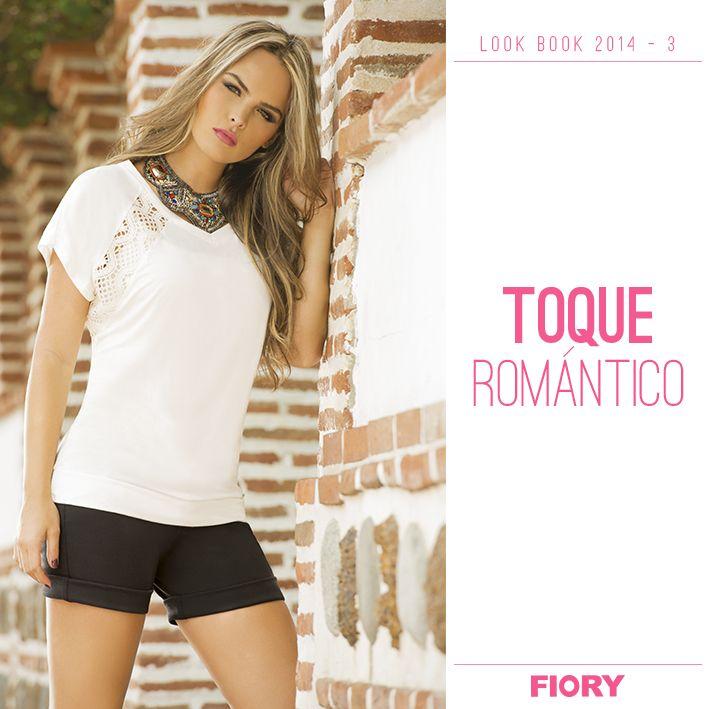 Vive este martes con un toque romántico!! #romanticchic #encaje #romanticismo #love #femenina #fiory #ropaexterior <3 <3