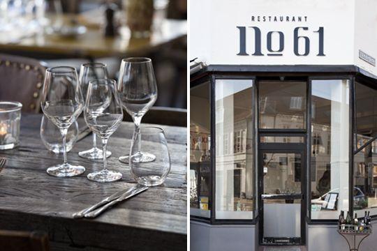 Restaurant No.61 in Odense, Funen, Denmark. Journal - Kinfolk Magazine