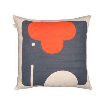 Orla Kiely - Elephant Cushion - 45x45cm