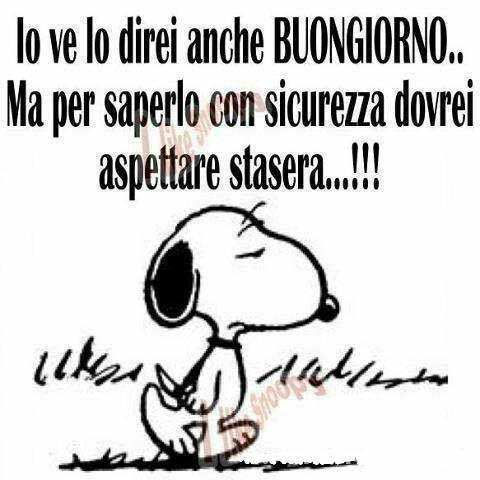 #buongiorno #certezze