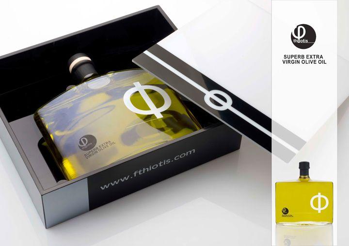 Fthiotis Company packaging design by Nikitas Georgopoulos
