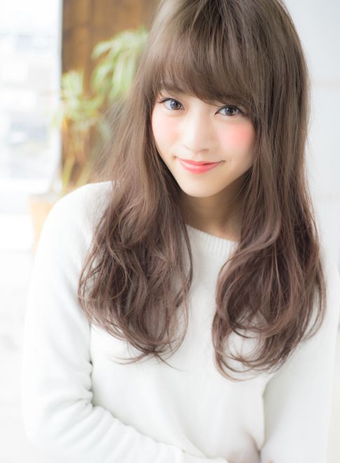 小顔ランダムデジタルパーマ 【AFLOAT JAPAN】 http://beautynavi.woman.excite.co.jp/salon/28130?pint ≪ #longhair #longstyle #longhairstyle #hairstyle ・ロング・ヘアスタイル・髪型・髪形≫
