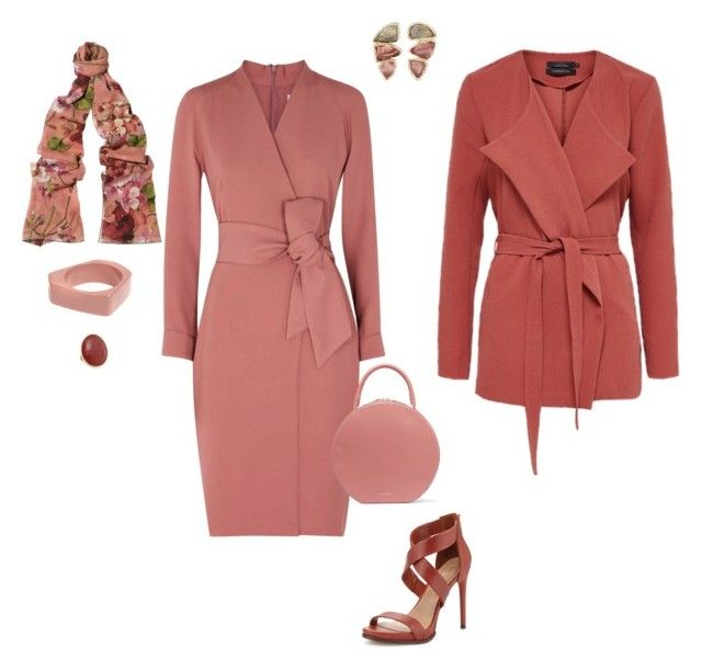 """""""CLARISSE"""" by blueheronseahorse on Polyvore featuring MaxMara, Mansur Gavriel, BCBGMAXAZRIA, BROOKE GREGSON, Marco Bicego, Gucci, Marni and vintage"""