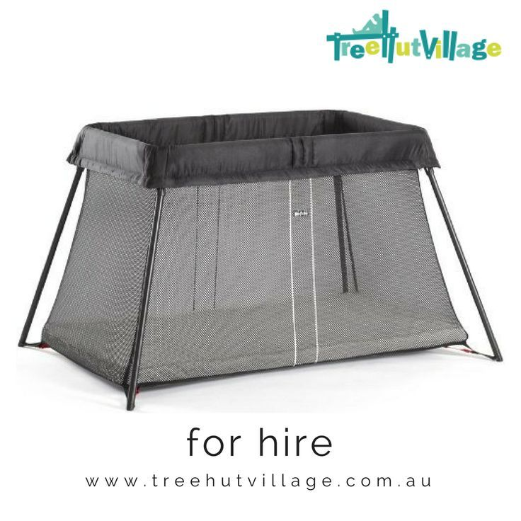 Travel Cot Hire   Baby Bjorn Travel Cot   For all your portacot hire needs visit Tree Hut Village for a large range of baby equipment rental items from other parents   Great for family travel.