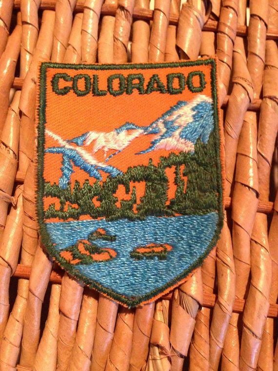 Colorado Vintage Travel Patch by HeydayRetroMart, $4.00
