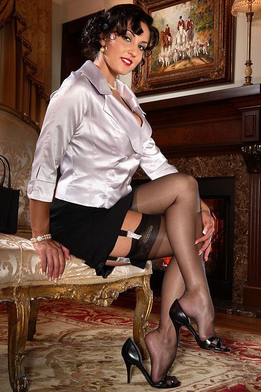 Jana Sheer Heel & Toe Black   I Love Secrets in Lace ...