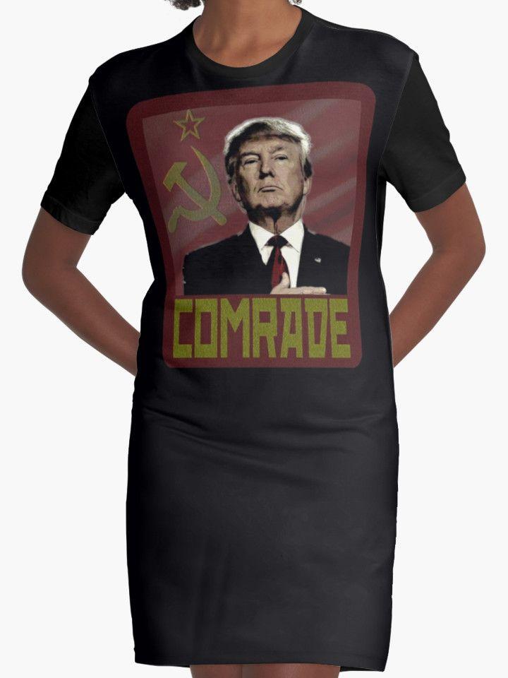 """COMRADE TRUMP"" T-Shirts & Hoodies by Paparaw | Redbubble"