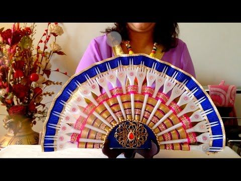 How To Make a Plastic Fork Fan | Best From Waste - YouTube