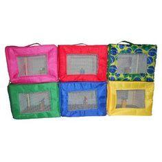 Brinquedo Calopsita Maleta De Transporte Bolsa Calopsitas - R$ 24,95