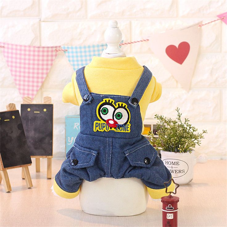 Autumn  Winter Warm Dog Clothes New Design Animals Printing Pet Clothes Four Legs Winter Jumpsuits for Dogs Pet Products