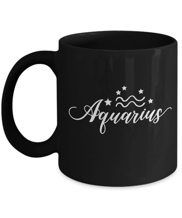 Aquarius Birthdays are Right Now! Excited to share the latest addition to my #etsy shop: Aquarius Mug, Born Jan 20 - Feb 18: Astrology Constellation Facts And Traits, Zodiac Coffee Cup Displays Birthday Horoscope Sign Of http://etsy.me/2EBpk9p  #aquariusmug