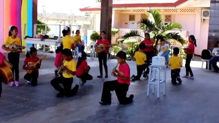 Bohol Dancing Kids