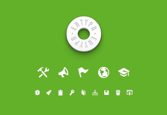 Entypo Icon Set #freebie