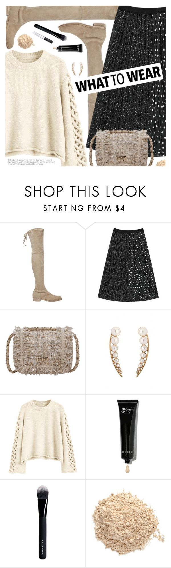 """""""Wish List"""" by pokadoll ❤ liked on Polyvore featuring Stuart Weitzman, Bobbi Brown Cosmetics, Givenchy, Le Métier de Beauté and NARS Cosmetics"""