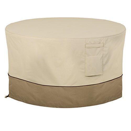 Classic Accessories 55-465-011501-00 Veranda Round Fire Pit/Table Cover 42-Inch