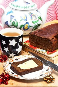 Teatime By Hemsley & Hemsley: Jamaican Christmas Gingerbread (Vogue.com UK)