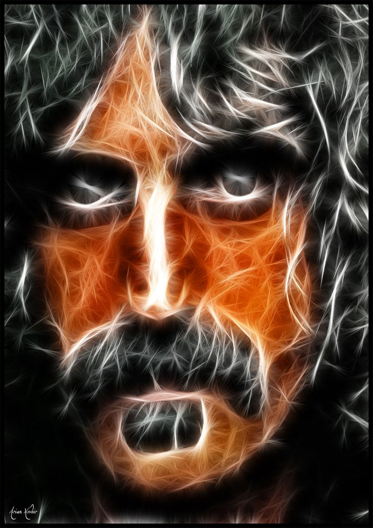 Frank Zappa fractal