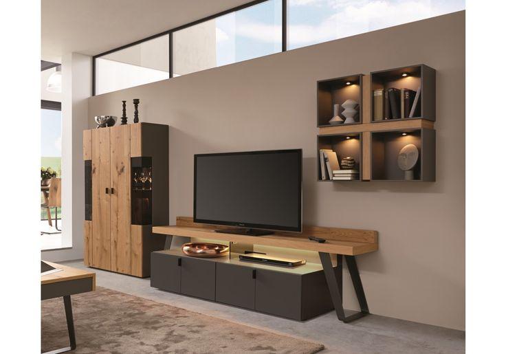 Das Online Mobelhaus Wohnorama Einfach Mobel Online Kaufen Wohnwand Eiche Taupe Wohnzimmer Wohnung Wohnzimmer